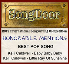2019 SongDoor Contest Honorable Mentions - Best Pop Song - Kelli Caldwell
